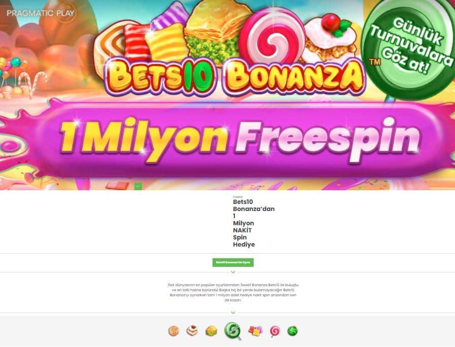 bets10 bonanza slot oyna